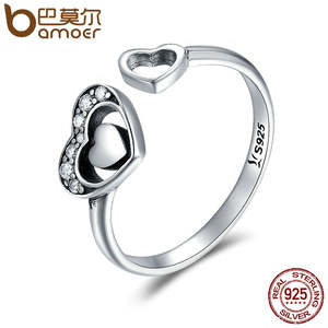 157f1e9a9 BAMOER Finger Ring Rings for Women Jewelry