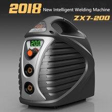 2018New ZX7-200 интеллектуальные сварочный аппарат мгновенный низким уровнем шума инвертор arc энергосберегающие инвертора сварочный аппарат (IGBT)
