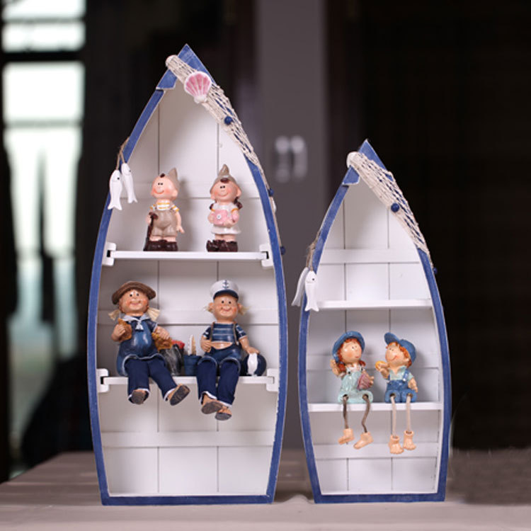 hand-made Mediterranean-style boat lockers <font><b>home</b></font> cabinet <font><b>decorative</b></font> ornaments display/<font><b>home</b></font> <font><b>decoration</b></font>