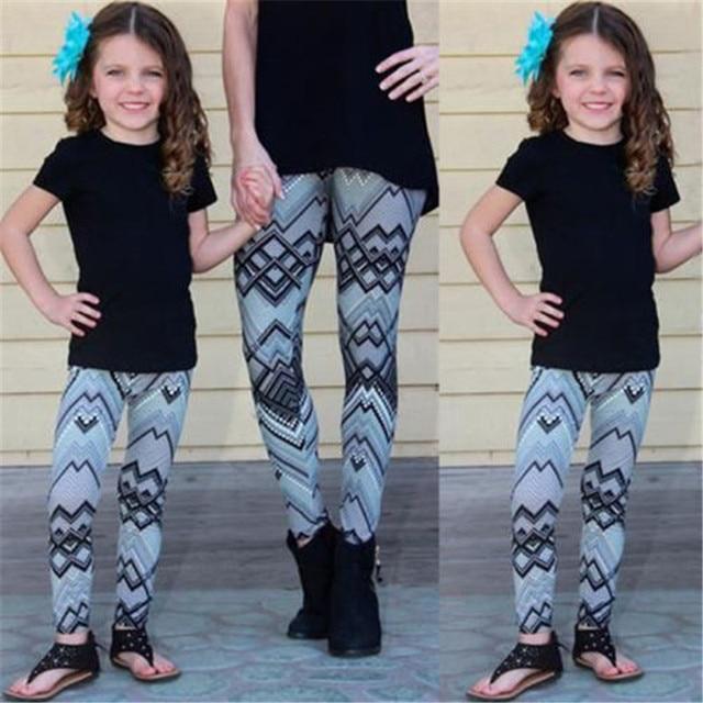Sportlegging Kids.2018 Brand New Yoga Pants Kid Girls Women Family Outfits Stretch Gym