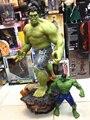 [Забавный] супер размер 1/4 Масштаб 60 см Мстители 3 Халк Зеленый гигантский танос Действие Рисунок Статуя Коллекция Модель игрушки подарок дл...