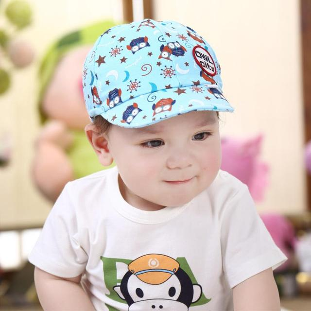 083bd52f0ea newborn photography Cute Kid Baby Boy Girl Toddler Infant Hat Owl Baseball Cap  baby bonnet cotton kids hats bonnet enfant