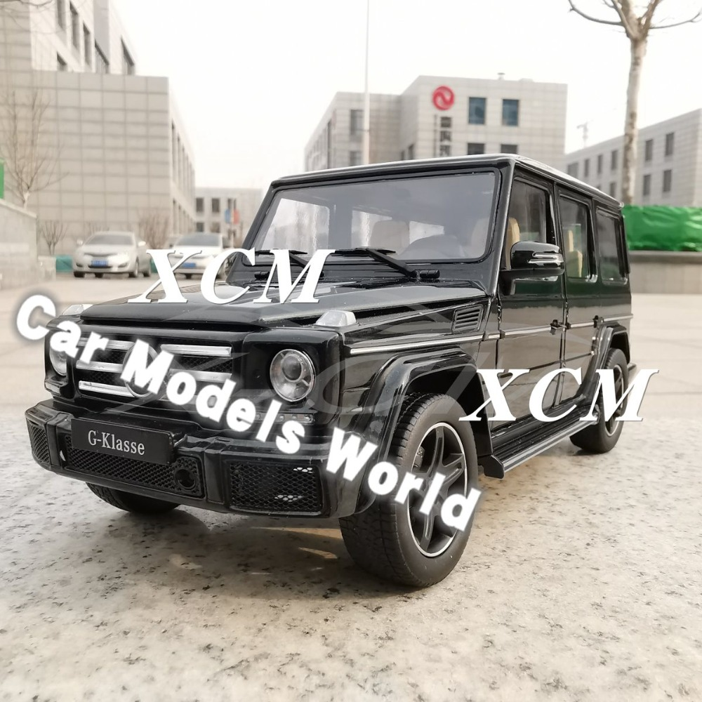 Diecast Car Model for iScale G Class G Klasse Dark Green 1 18 SMALL GIFT