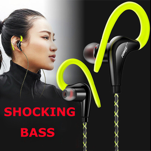 Image 1 - In ear Earphone for iPhone Bass Headset with Microphone Earphones for Xiaomi Samsung Earbud 3.5mm auriculares Headset