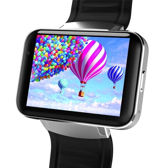 Новейшие DM98 Smart Watch 3G WI-FI GPS Android 5.1 OS MT6572A двойной кор ПРОЦЕССОРА 2.2 ''Экран 2.0MP Камера 900 мАч Батареи для Смартфонов