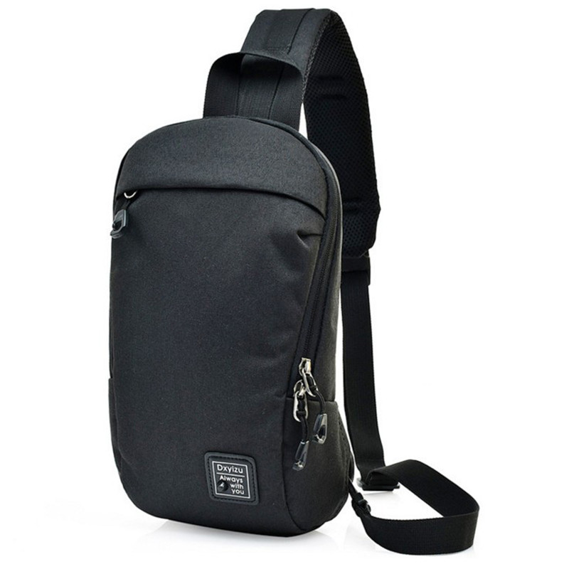 2a38d843583 Dual Functional One Strap Mochilas Women Men Single Strap Backpack chest  pack male female small canvas