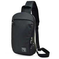 Dual Functional One Strap Mochilas Women Men Single Strap Backpack Chest Pack Male Female Small Canvas