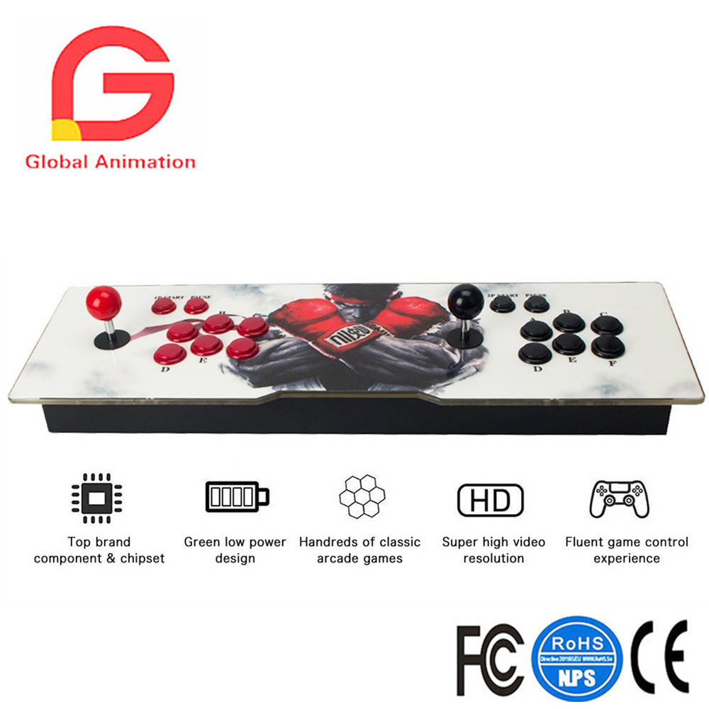 Classic Game Box 5s Arcade Machine 999 Classic Games 2 Players Full HD Video Game Console Support HDMI & VGA Output nintendo gbc game video card pokemons classic collect classic colorful edition