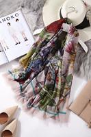 140 140cm Scarf WomenWinter Scarf 100 Cashmere Scarves Cardigan Blanket Coat Luxury Brand Shawl Wrap Gift