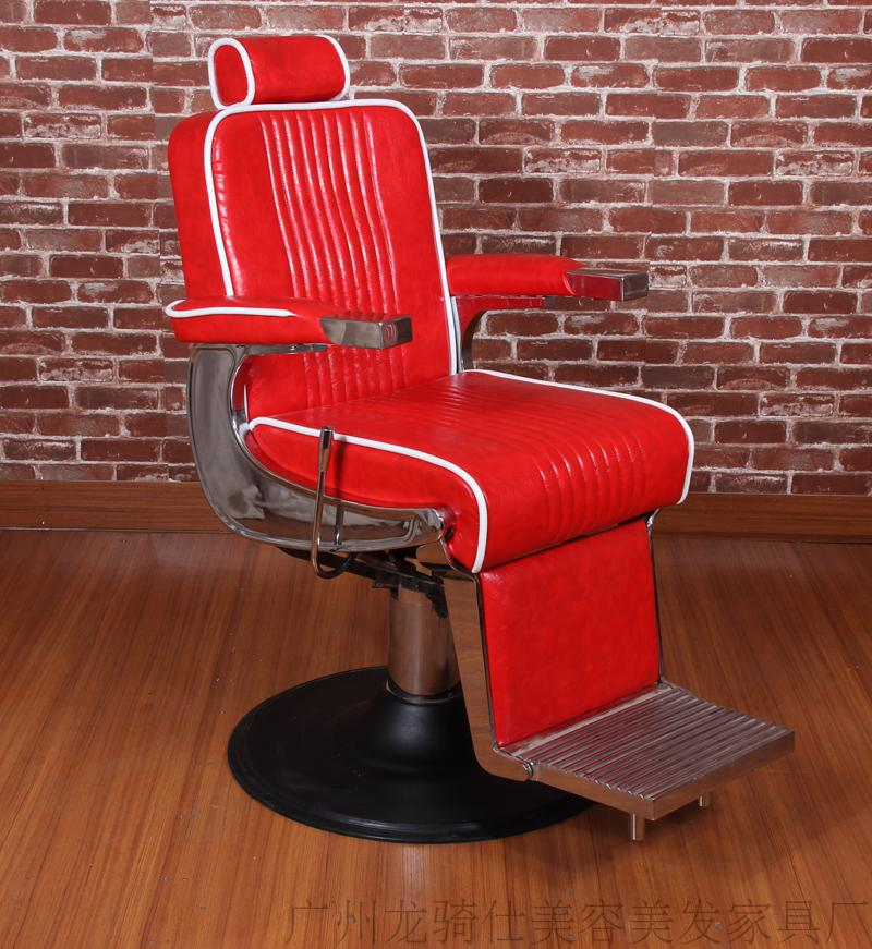 Hairdressing Shop Cut Hair Restoring Ancient Ways Hair Chair Fashion Hairdressing Lift Put Down The Large Pump Raises Hair Chair