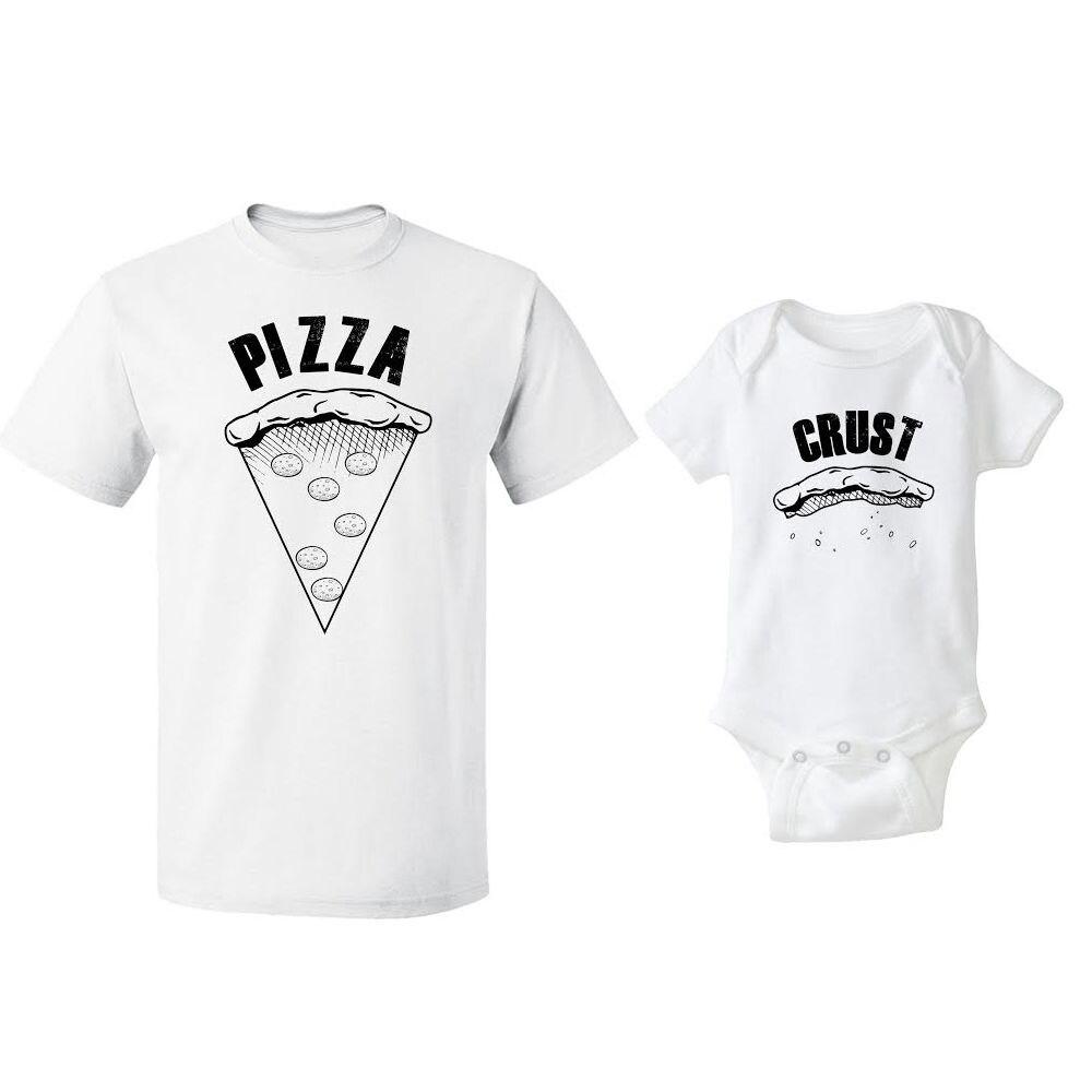 Padres e Hijos Camiseta A Juego y Body Set Corteza De