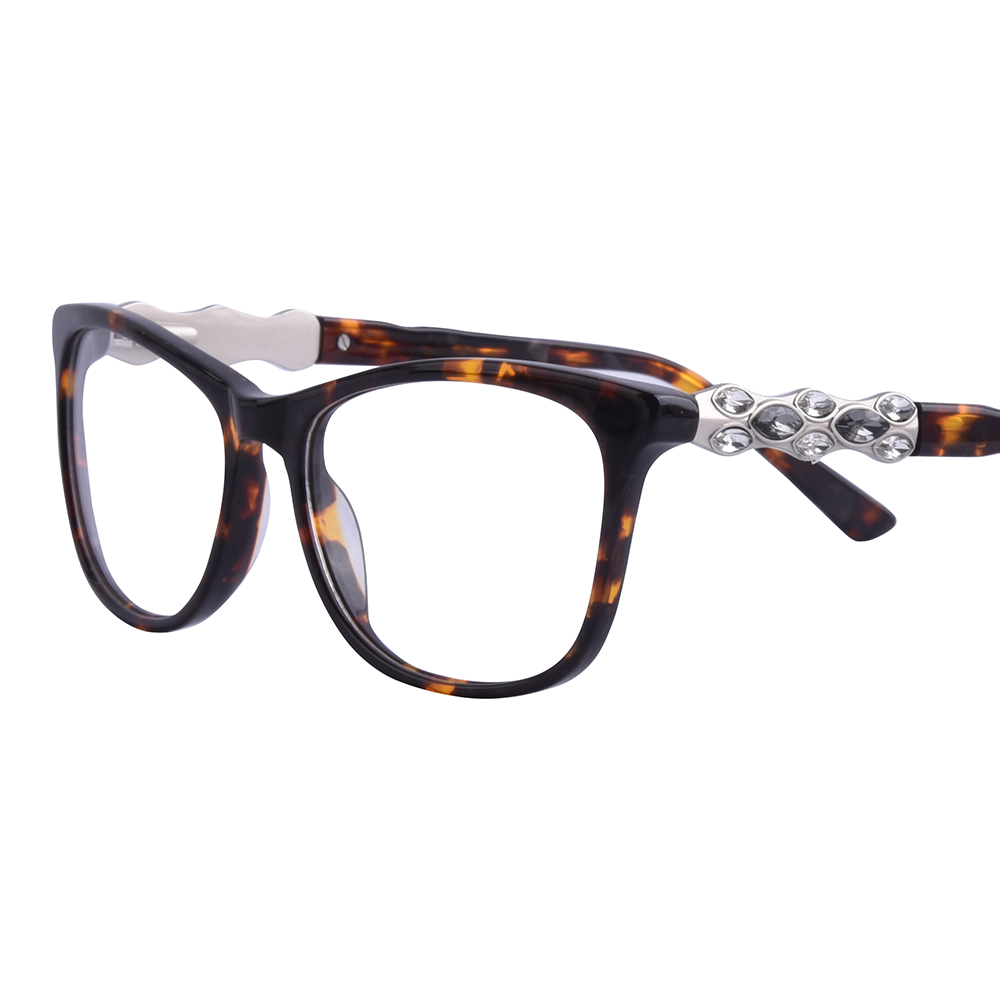 48edfa5052 Gmei Optical Womens Trendy Urltra-Light TR90 Full Rim Optical Eyeglasses  Frames With Print Design Girls ...