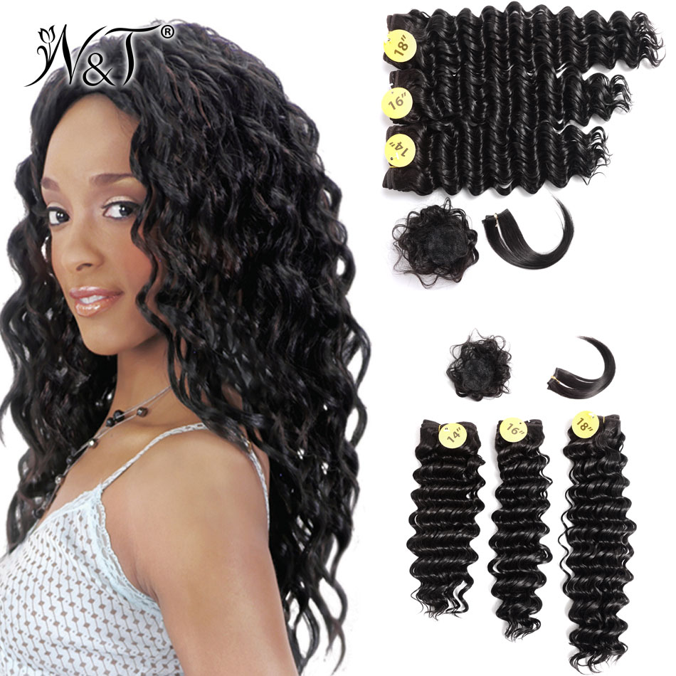 2017 New Design Synthetic Hair Extensions Synthetic Weave With