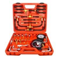 TU 443 Universal Auto Kraftstoff Diesel Druck Tester Gasline Injektor Pumpe Manometer Kit Kraftstoff Druck Tester 0 140PSI Instrument Werkzeug Kraftfahrzeuge und Motorräder -