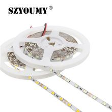 5M 300 SMD 5630 LED Strip 12V Flexible Lighting Light 5MM PCB Width 60 Led/M Tape White/ Warm White