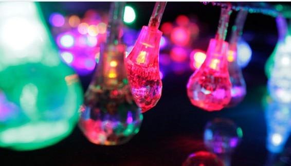 Tipo di goccia m led luci colorate lampeggiatore mantianxing