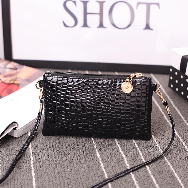 New single shoulder Messenger bag Korean fashion foreign trade purse crocodile pattern clutch bag 0708 фитнес блоки foreign trade yz01 eva