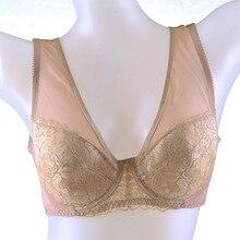 2015 Ladies underwear Cotton Bras For Women Sutia America Back Steel Prop Underwear Large Cup Bra Size E f cup 75-110