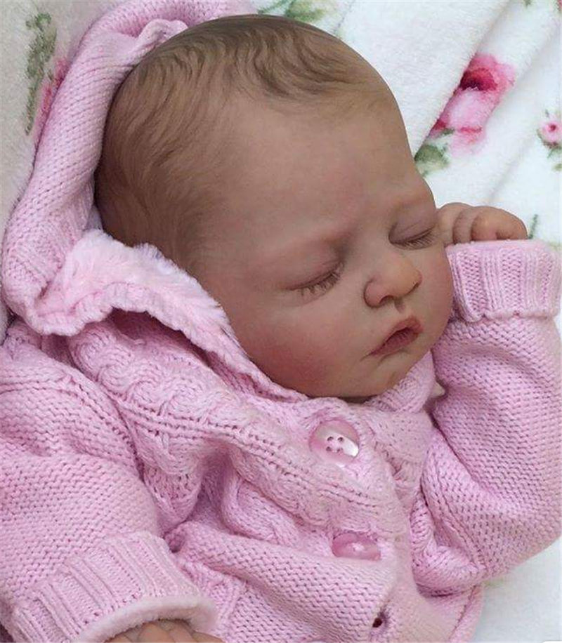 soft vinyl body Unpainted Reborn Doll Kits for Artist Handmade Mould Doll Reborn Accessories for 20