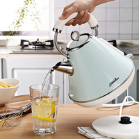 1.8L Electric Kettle 304 stainless steel Household Water Kettle Auto Power off Protection Handheld Water Heating 220V