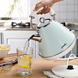 220V 1.8L Electric Kettle 304 stainless steel Household Water Kettle Auto Power-off Protection Handheld Water Heating
