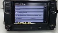 2PCS LOT CarPlay Noname RCD330 RCD330G Plus CarPlay APP 6 5 MIB Car Radio For Golf