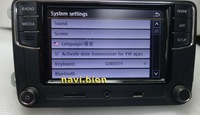 CarPlay RCD330 RCD330G плюс CarPlay приложение 6,5 автомобиль MIB радио для Гольф 5 6 Jetta CC Tiguan Passat мужские поло 6RD 035 187B