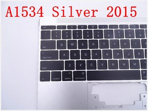 """Image 3 - Original IMIDO Topcase Space Silver  For Macbook 12"""" A1534 Top case with keyboard and backlight 2015"""
