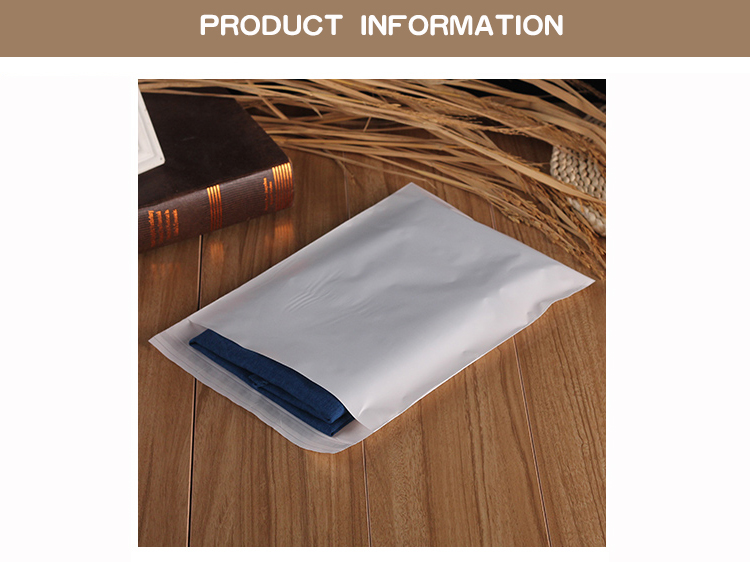1 pe,Milky white,packaging,storage,self-adhesive bag,seal,cosmetics,mask paper,magazine,book,jewelry,towel,socks,panties,underwear,card,clothes,hat,shoes,scarves, (2)