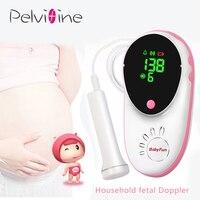 Pelvifine CFDA doppler fetal LCD Portable contec Ultrasound Baby heartbeat fetal heart monitor Pregnant Women Doppler Sensor