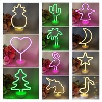 1pc/set Rustic LED lamp decorations Heart Wedding Table Scatter Decoration Crafts DIY Drop Shipping 18754