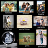 Glass Photo Ball Personalized Crystal Sphere Lase Engraving Customized Globe Home Decor Accessories Baby Photo Glass Sphere 6