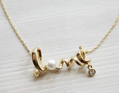 CJ7002 12pcs/lot-korean jewelry/jewelry wholesale/sweater necklace.Luxury love necklace with pearl.free shipping