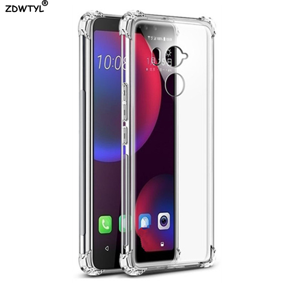 Air Cushion Shockproof Case For Htc U11 U12 Plus Life Eyes Google Pixel 2 3 XL Silicone Phone Cover For HTC U Play U Ultra Case