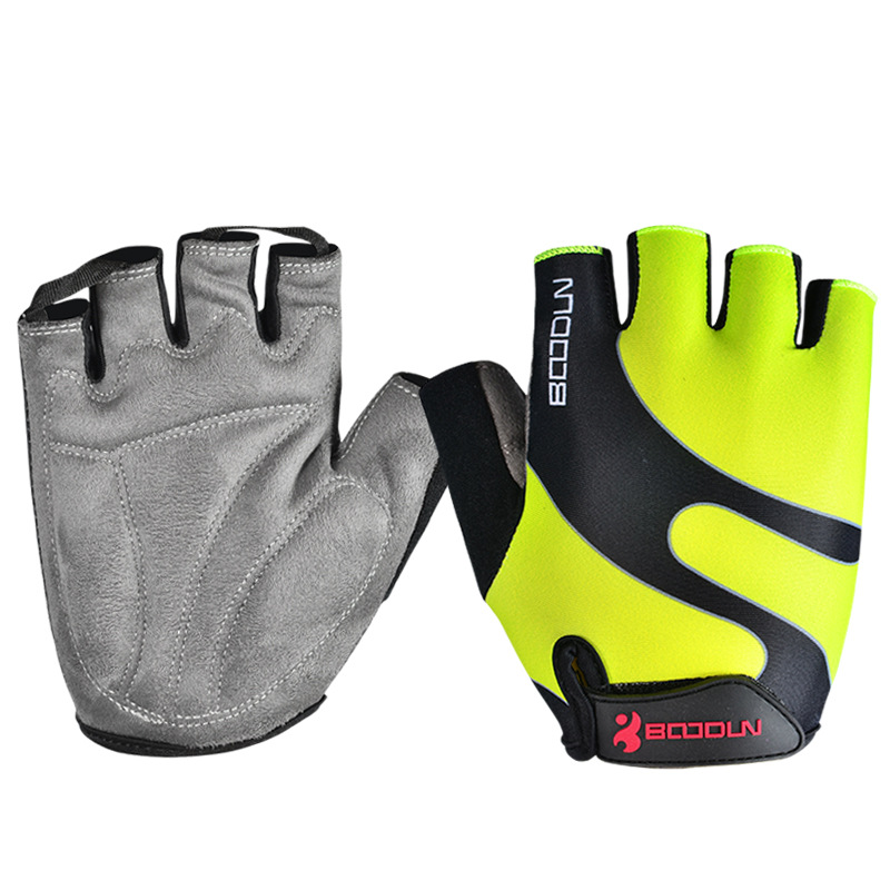 Brand New Cycling Half Finger Gloves Bike / Mountain Gloves Bicycle Riding Gloves For Men And Women Size S-XXL muñeco buffon
