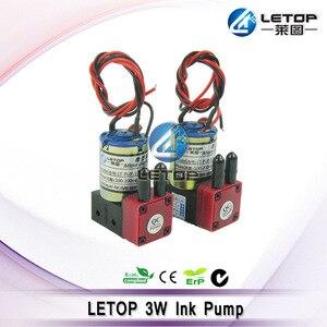 Image 2 - LETOP Outdoor Maschine Lösungsmittel Inkjet Drucker 3W 7W 10W Drucker Tinte Pumpe 24V