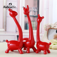 home decoration accessories ceramic animal figurines miniature fairy figurines little gift crafts chinese souvenirs
