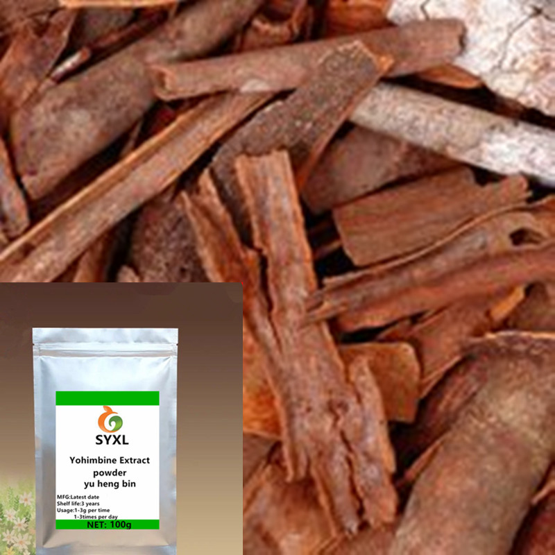 High Quality Yohimbe Extract Yohimbine Bark Extract/yu Heng Bin/free Delivery Be Friendly In Use 100g-1000g Natural Beauty & Health