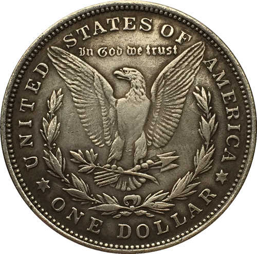 EUA 1884 Dólar Morgan moedas COPIAR