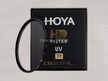 Hoya 77มิลลิเมตรHD UVอัลตร้าไวโอเล็ตกรองดิจิตอลความละเอียดสูงป้องกันเลนส์สำหรับกล้องDSLR SLRเลนส์กล้อง