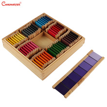 Wooden Montessori Toys and Games Color Tablets Puzzles Board Toy Sensory School Home Wood Education Teaching Aids Toys SE014-35