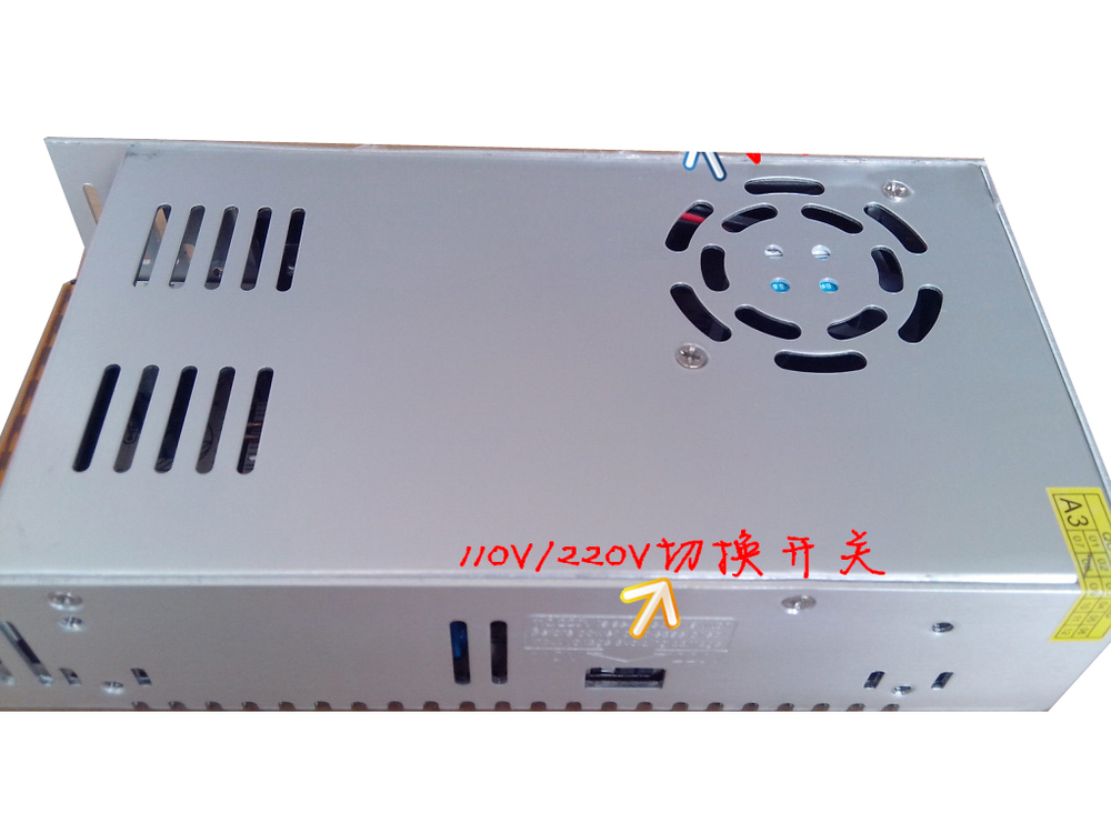 ФОТО ZYE-SW27 110V-240V Switching Power Supply For LED Strip light Display AC Power supplies Driver switch power supply 36V 10A 10A