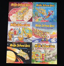 6 books/set The Magic School Bus English picture books children Early Educaction science scholastic story library kids gift(China)