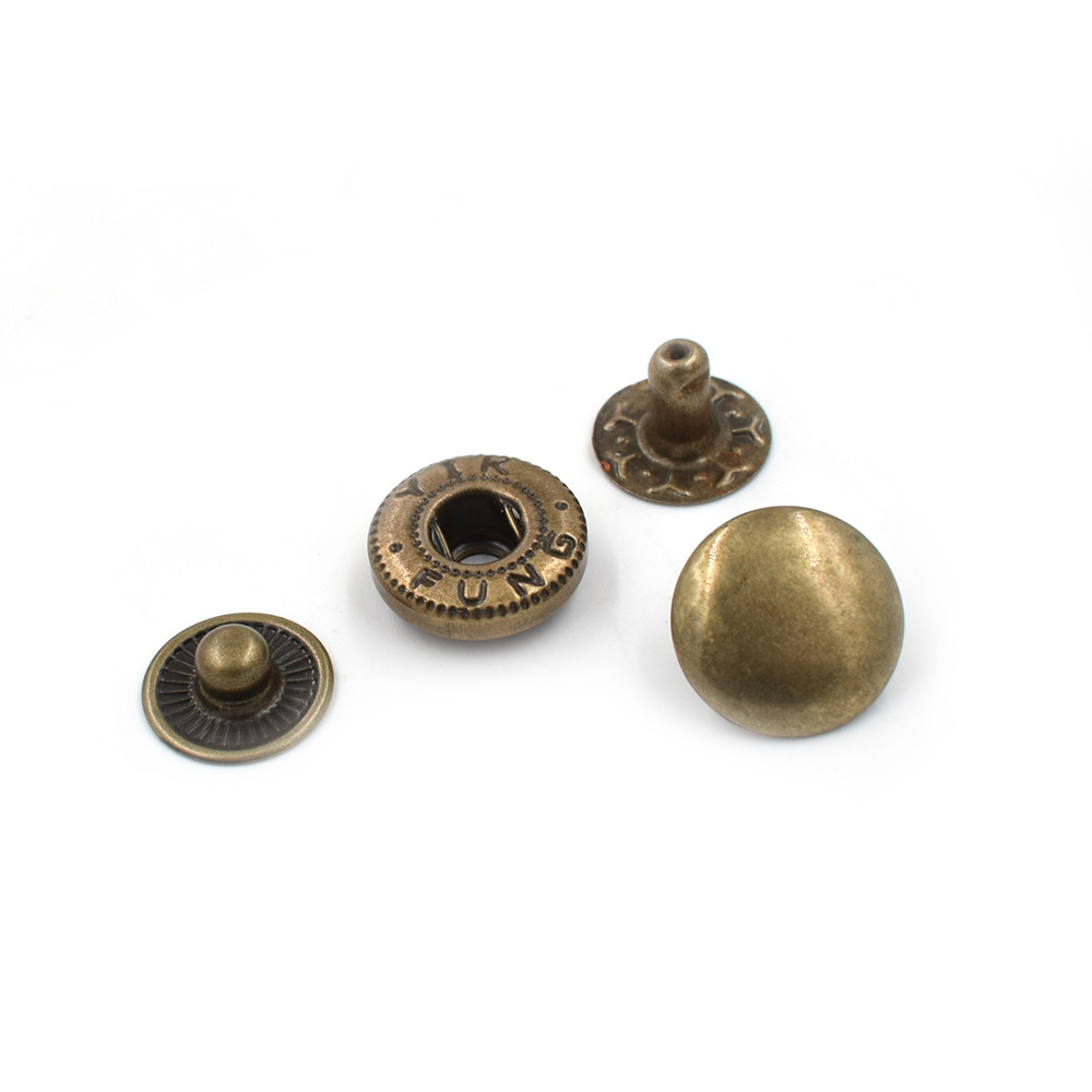 Image 2 - 500 sets /lot15mm Metal snap. fastener buttons, Rivet, T8 T5 T3  snaps jacket buttons Clothing