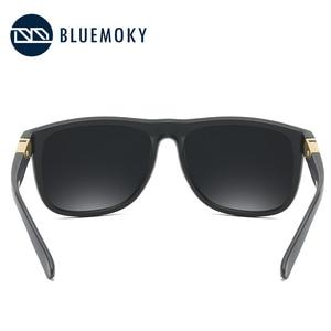 Image 4 - Bluemoky Vuông Đen Kính Chống Nắng Cho Nam UV400 Phân Cực Thương Hiệu Kính Mát Nam Lái Xe Polaroid Sắc Thái Dành Cho Nam 2019