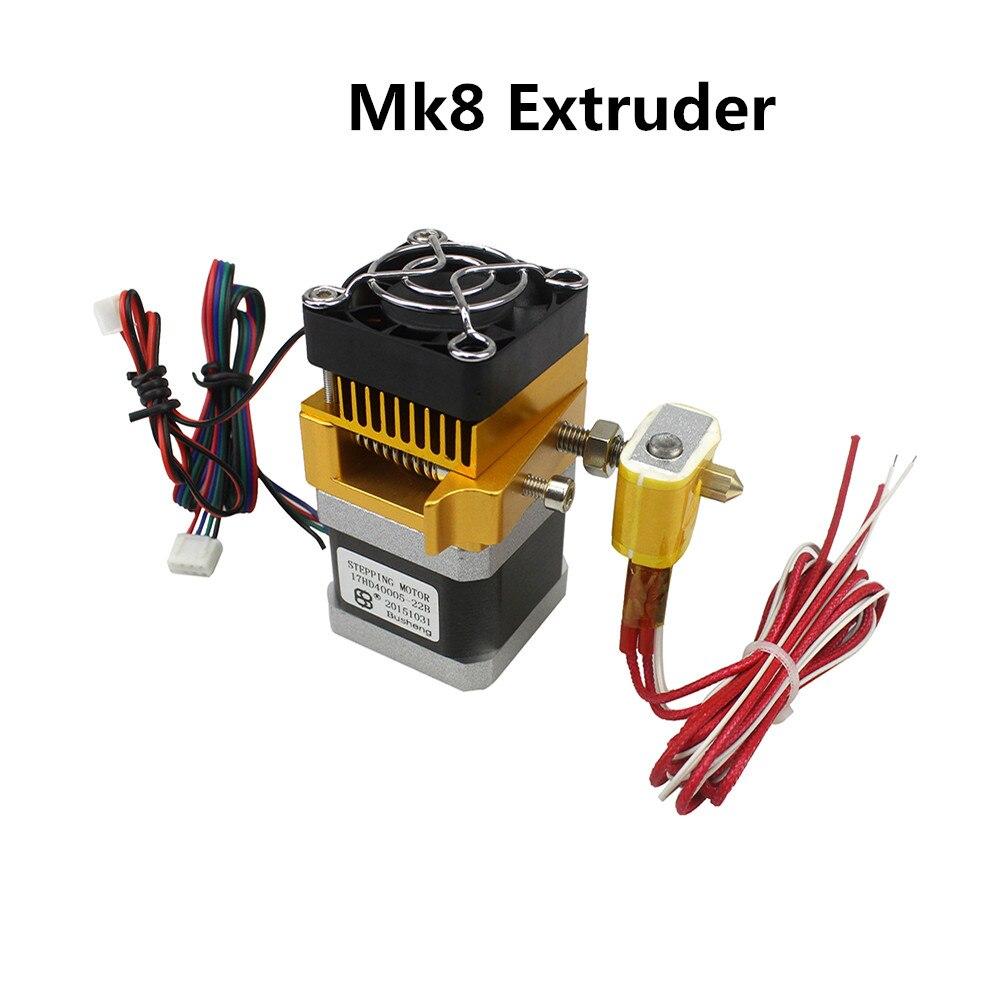 3D Printer Head MK8 Extruder J head Hotend Nozzle 0 4mm Feed Inlet Diameter 1 75