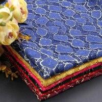 Oferta especial leopardo fio de ouro tecido de renda e de vestuário de tecido de fios de renda pano hot stage atacado