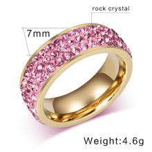Vintage Stainless Steel Wedding Rings for Women
