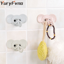 YuryFvna samolepící hák sloní nos ABS háček nástěnný držák lepící klíčenka klobouky kabát robé háček držák závěs kuchyňský stojan