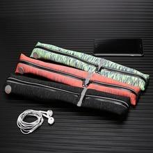 Yipinu Sports Running Waist Bag Outdoor Waterproof Reflective Waist Belt Jogging Gym Fitness Runner Belt Mobile Phone Bags
